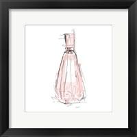 Framed Pink Perfume Three