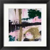 Framed High Time Abstract