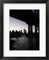 Framed NYC at Dusk