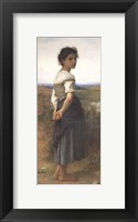 Framed Young Shepherdess, 1885