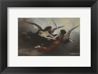 Framed Une Ame Au Ciel (A Soul in Heaven), 1878