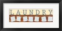 Framed Laundry Day