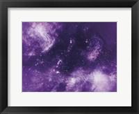 Framed Ultra Violet Deeps