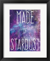 Framed Made Of Stardust