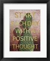 Framed Positive Start