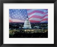 Framed Capitol Pride