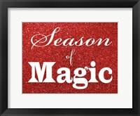 Framed Magical Season