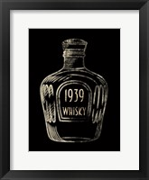 Framed 1939 Whisky