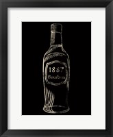 Framed 1887 Bourbon