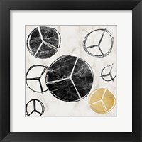 Framed Peace Multiplied 1