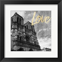 Framed Paris Love 3
