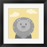 Framed Funky Lion