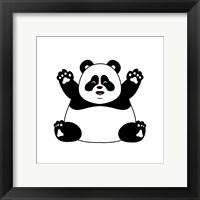 Framed Chubby Panda