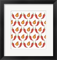 Framed Fire Peppers