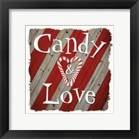 Framed Candy Love