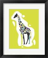 Framed Fun Giraffe