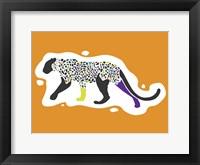 Framed Fun Leopard