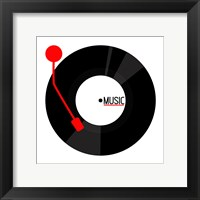 Framed Vinyl Music