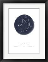 Framed Libra