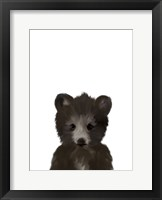 Framed Baby Black Bear