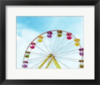 Framed Summer Ferris Wheel 1