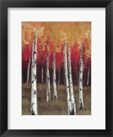 Framed Forest Red 1