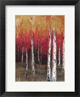 Framed Forest Red 2