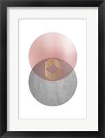 Framed Deco Geo 2