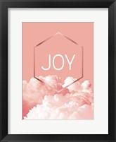 Framed Love Joy Geo 3
