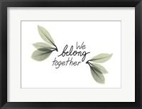 Framed Belonging