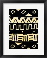 Framed Tribal Meeting Cream