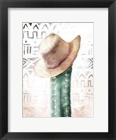 Framed Tribe Cactus