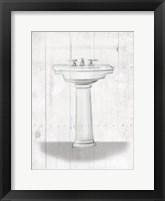 Framed Simple Sink