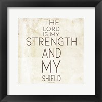 Framed Strength
