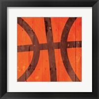 Framed Kids Sports Basketball