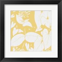Framed Sunshine Flowers Two
