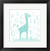 Framed Giraffe Fun