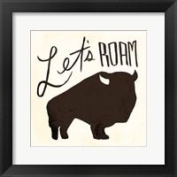 Framed Lets Roam