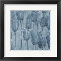 Framed Tulips Patch Blues