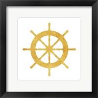 Framed Gold Steering