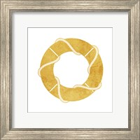 Framed Gold Floaty