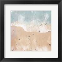 Framed Lay Out On The Beach