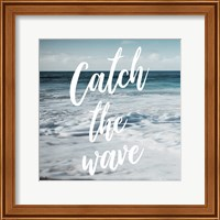 Framed Catch The Wave