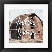 Framed Farm Time