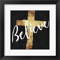 Framed Believe Clean