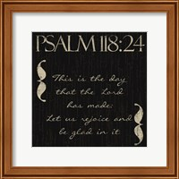 Framed Psalm This