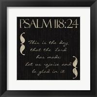 Framed Psalm This
