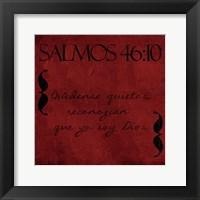 Framed Salmos Quedense