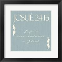 Framed Josue Yo