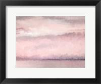 Framed Blush Sky